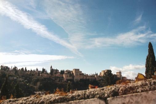 The Alhambra from Sacromonte   Granada 2017