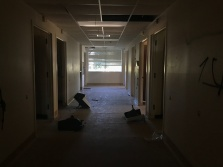 The second floor of Taylorsville Memorial Hospital.